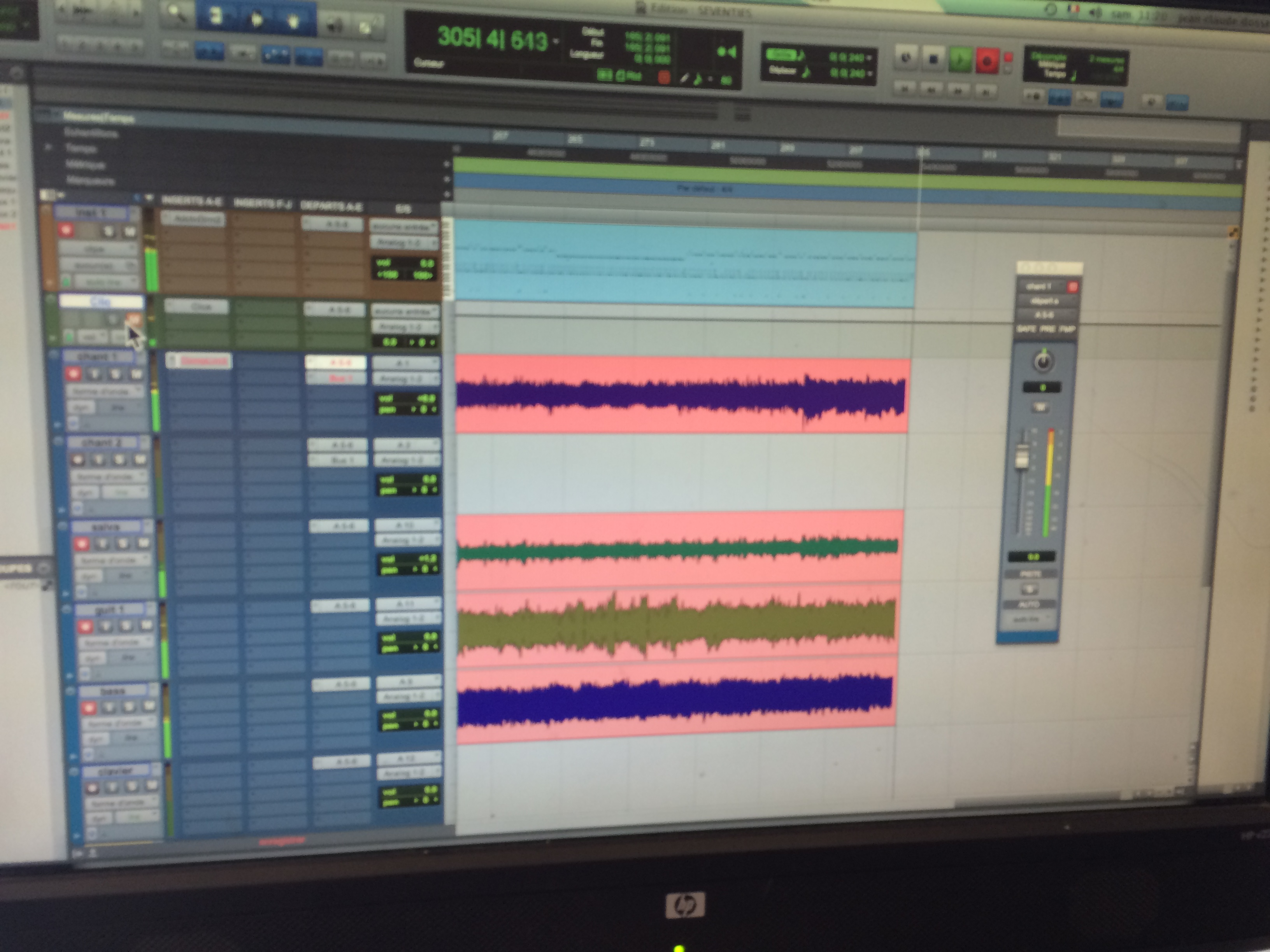 enregistrement protools HD
